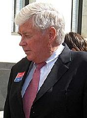 A Republican, he served as Housing Secretary in the administration of President George H. W. Bush from 1989–93, having previously served nine terms as a Congressman for Western New York from 1971–89. He was the Republican Party's nominee for Vice President in the 1996 election, where he was the running-mate of presidential nominee Bob Dole. Kemp had previously contended for the presidential nomination in the 1988 Republican primaries.