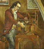 By 1785, Fitch was done with surveying and settled in Bucks County, Pennsylvania where he began working on his ideas for a steam-powered boat. Unable to raise funds from the Continental Congress, he persuaded various state legislatures to award him a 14-year monopoly for steamboat traffic on their inland waterways. With these monopolies he was able to secure funding from businessmen and professional citizens in Philadelphia.