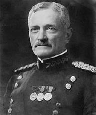 Pershing is the only person to be promoted in his own lifetime to the highest rank ever held in the United States Army—General of the Armies (a retroactive Congressional edict passed in 1976[1] promoted George Washington to the same rank but with higher seniority[2]). Pershing also holds the first United States officer service number (O-1). Pershing led the American Expeditionary Forces in World War I, and was regarded as a mentor by the generation of American generals who led the United States Army in Europe during World War II, including George C. Marshall, Dwight D. Eisenhower, Omar N. Bradley, and George S. Patton.